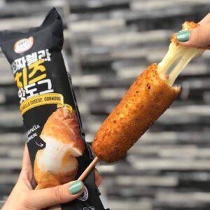 Hotdog Xúc Xích Phô Mai Hàn Quốc