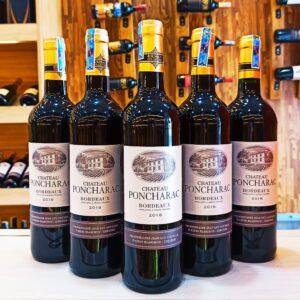 Rượu vang Pháp Chateau Poncharac Bordeaux